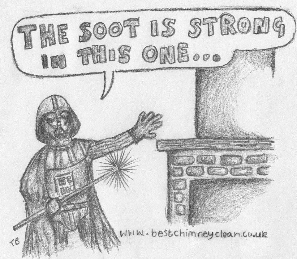 Chimney Sweep Darth Vader